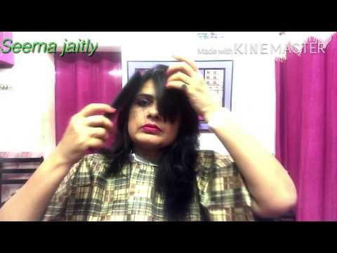Hair cutting - Self Multi steps Hair cut full tutorial/ How to cut  Multi  steps Hair Seema jaitly