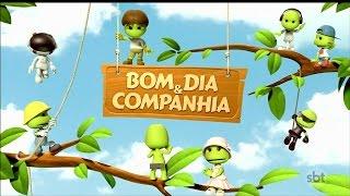 Início do Bom Dia & Cia com Matheus Ueta e Ana Júlia Souza (01/05/17)