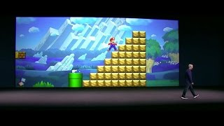 Mario jumps onto Apple's iPhone (CNET News) - YouTube