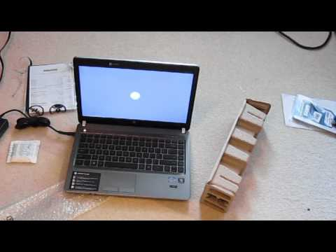 Unboxing of HP ProBook 4430s