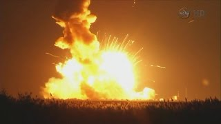 [ISS] Antares Explodes Seconds After Launch, Destroying Cygnus CRS-3 Spacecraft Destined for ISS