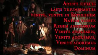 O come all ye faithful adeste fideles italian,english and latin (christmas carol)mp3