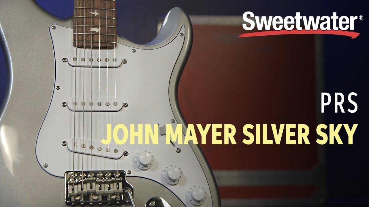 PRS John Mayer Silver Sky Electric Guitar Review