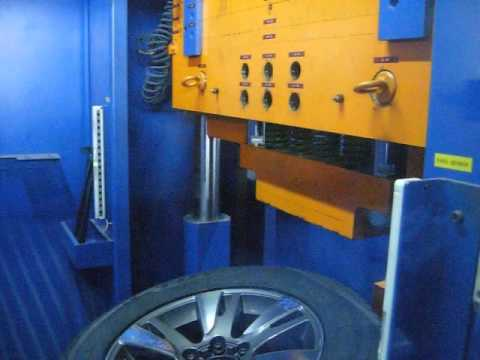 Проверка прочности диска WSP Italy W1765 VENERE на удар спицы (Тойота)