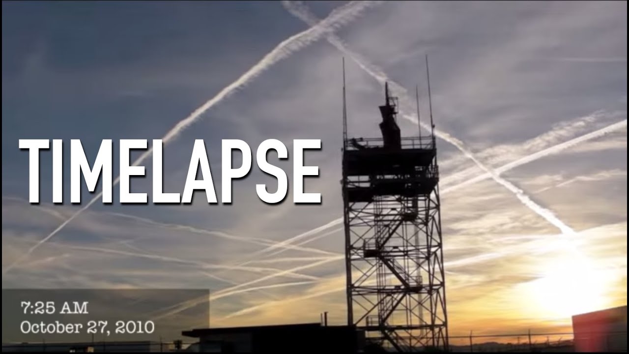 Ultimate Chemtrail Timelapse – Part 1