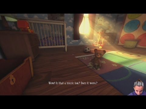 Teddy Is A Bad Inlfuence | Among The Sleep Ep-1 | Gaming With Kayla