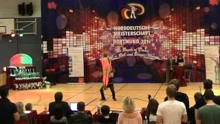 Franziska Schmidt & Paul Weiland - Norddeutsche Meisterschaft 2014