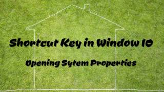 Opening System Properties in Window 10Please Subscribe to my channel to get more video tutorials. You​Tube Channel: http://goo.gl/fpjLKTEmail: moul.kakada@gmail.comBlog: http://www.moulkakada.blogspot.comFacebook Page: https://www.facebook.com/LearnsTipsCopyright © Moul Kakada, 2017. All Rights Reserved.