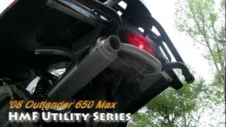 9. Can-Am Outlander 650 Max / Stock vs HMF