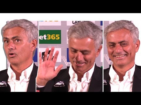 Swansea 0-4 Manchester United - Jose Mourinho Post Match Press Conference - Embargo Extras (видео)