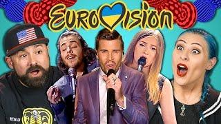 Video ADULTS REACT TO EUROVISION 2017 MP3, 3GP, MP4, WEBM, AVI, FLV April 2018
