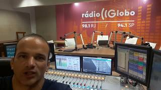Estúdio da Rádio Globo