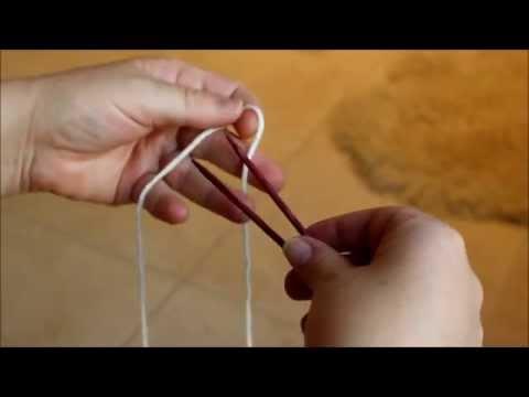 Socken stricken – Anschlag fuer Sockenspitzen