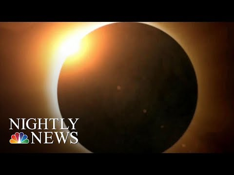 Want To Safely Watch The Eclipse? These Glasses Are Selling Out | NBC Nightly News