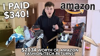 I Bought a $2834 Amazon Returns