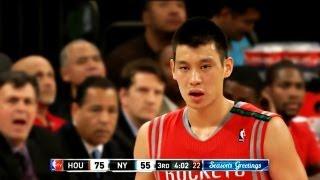 Jeremy Lin 林書豪-2012-12-17火箭vs尼克 Houston Rockets vs New York Knicks