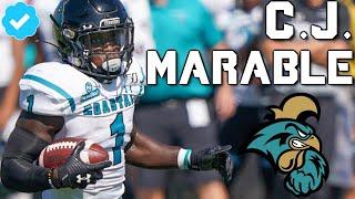 Official CJ Marable Coastal Carolina Highlights by Harris Highlights