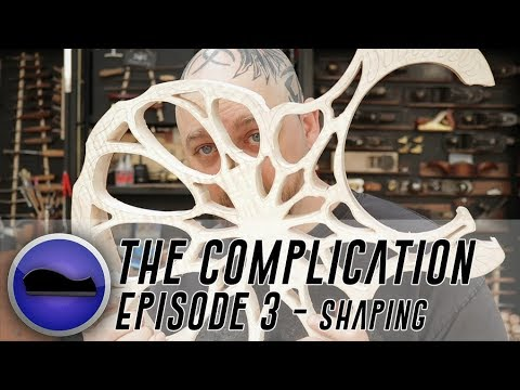 The Complication Guitar Build – the most complex electric guitar ever?  Ep 3