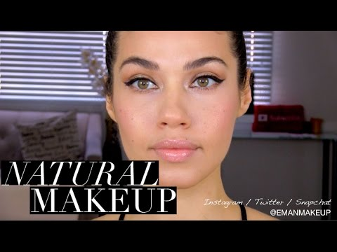 NATURAL MAKEUP TUTORIAL! ♡ | EMAN