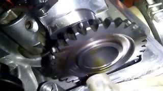 9. Husqvarna TE 250 2014 engine valve rebuild