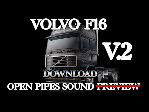 Volvo F16 Open Pipe Sound