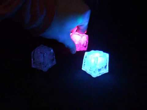 Lite Cube LED Lighted Ice Cubes From Lighted Universe