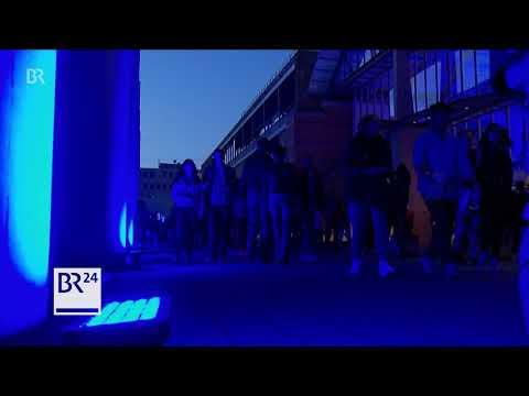 Blaue Nacht in Nürnberg - rund 250 Kunstaktionen, F ...