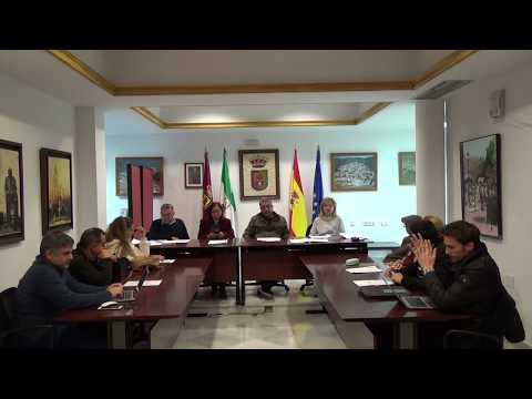Pleno Extraordinario 5 de Diciembre de 2018 del Ayuntamiento de Casabermeja
