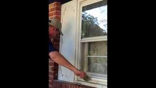 How to prep exterior trim