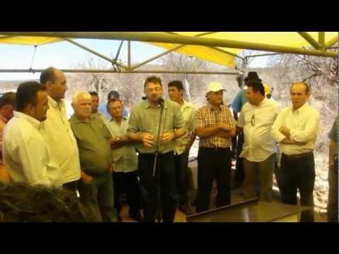 Vídeo inauguração da PI 456 Curral Novo PI  a Simões PI