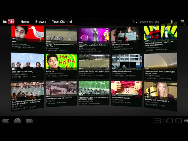 YouTube: First Look: T-Mobile G-Slate with Google by LG