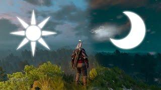 The Witcher 3 | Timelapse | Day & Night Cyle / Tag- und Nachtwechsel