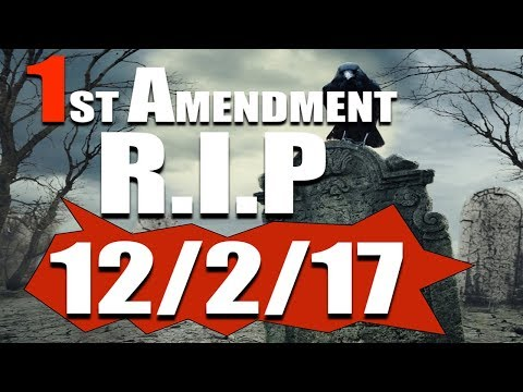 PROPHECY ALERT: Separation of Church & State R.I.P 12/2/17