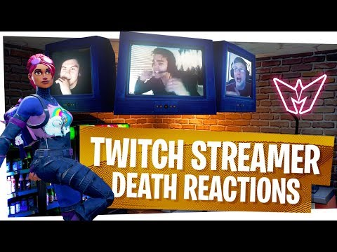 KILLING FORTNITE TWITCH STREAMERS with REACTIONS! - Fortnite Funny Rage Moments ep8