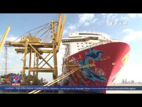 hot quá hot, Tàu du lịch lớn nhất châu á đến Đà Nẵng