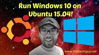 Video Run Windows 10 in VirtualBox on Ubuntu 15.04 (Vivid) MP3, 3GP, MP4, WEBM, AVI, FLV Juni 2018