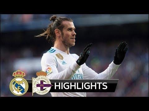 Real Madrid vs Deportivo La Coruna (7-1)   All Goals & Highlights   La Liga 21 01 2018 HD