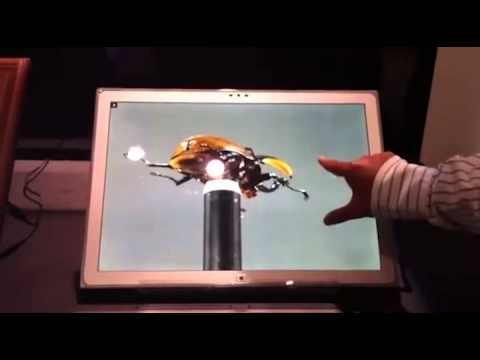 Panasonic Tablet with 20-inch 4k IPS Alpha LCD Panel