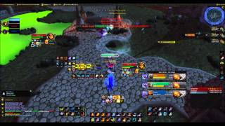 Frost Dk- Robopuppy Resto Sham- Lunchables Fire Mage- Freezingg Decent games working up the ladder.