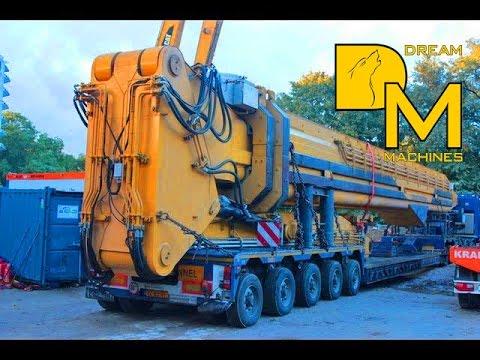 Caterpillar 5110B HRD88 dismantling worlds largest demolition excavator Abbruchbagger 挖掘機