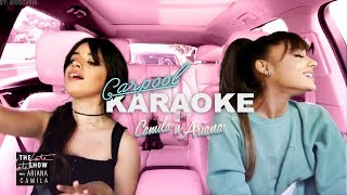 Video Camila Cabello and Ariana Grande Carpool Karaoke MP3, 3GP, MP4, WEBM, AVI, FLV April 2018