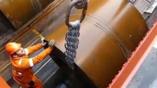 Video Laden van staalrollen in Antwerpen MP3, 3GP, MP4, WEBM, AVI, FLV Desember 2018