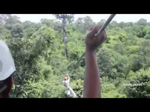 la zip line più lunga dell'asia - la giungla della cambogia