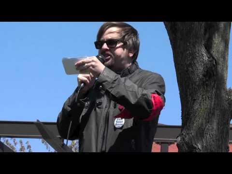Prvi maj 2011. u Bostonu: Geoff Carens iz IWW