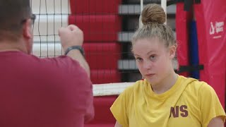 Kayley Ericson steps into leadership role for NFA volleyball