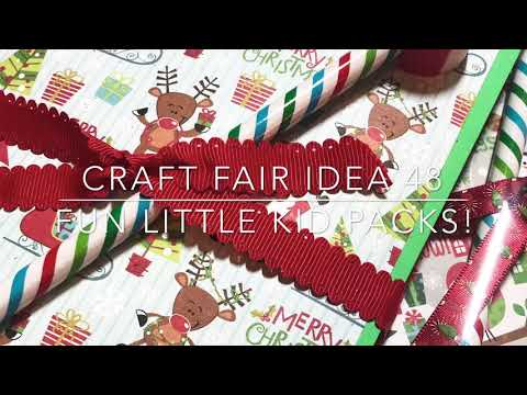 Craft Fair Series 2018- Fun Little Kid Packs!