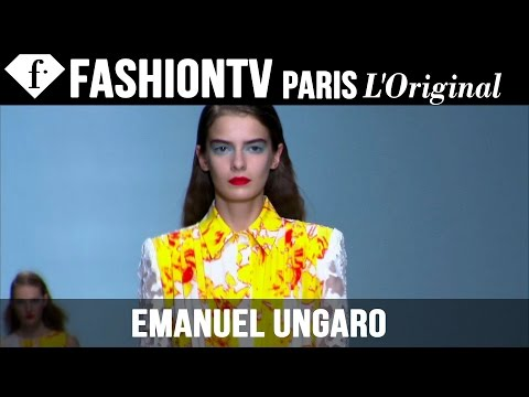 Fashion TV - http://www.FashionTV.com/videos PARIS - See the latest collection from Emanuel Ungaro on the runway during Paris Fashion Week Spring/Summer 2015. Designer Fausto Puglisi packs a punch of color...