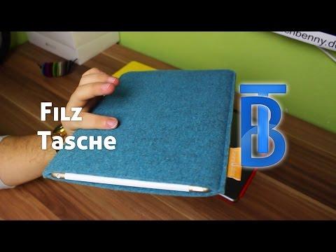 Review: Burning Love Filz iPad Air Tasche [German/Deutsch]