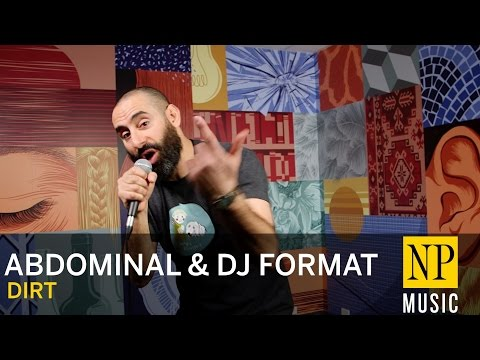 Abdominal & DJ Format 'Dirt' in NP Music studio