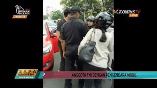 Pengemudi Mobil Akhirnya Minta Maaf Pada TNI